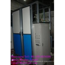 2 eixos de alta velocidade CNC escova de fio de aço automática que faz a máquina fabricante