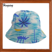 Fashion Cotton Hawaii Pattern Bucket Cap