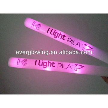 luz rosa LED vara de espuma toda venda 2016