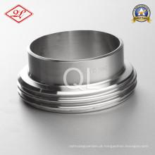 Sanitária Aço Inoxidável 11851 DIN Union Soldagem Masculino