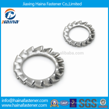 DIN6798 M3-M30 Stainless Steel External teeth Lock Washers