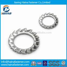 DIN6798 M3-M30 Нержавеющая сталь с наружными зубьями