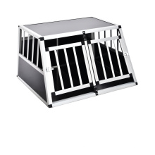 Newest Light Alumium Durable Easy To Transport Pet Supplies Cage Dog Metal Pet