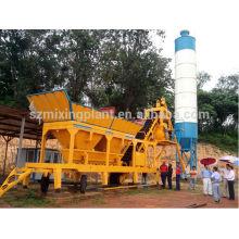 YHZS35 móvel planta de processamento de concreto portátil à venda 35m3 / h, 30m3 / h