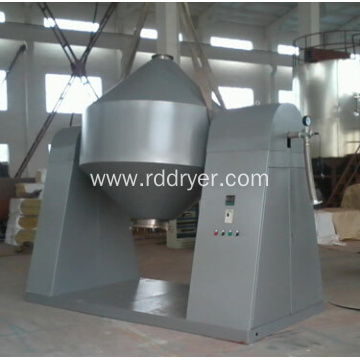 Glass-lined Double Cone Rotary Vacuum Dryer