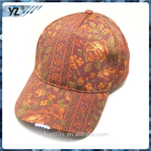priting with LED baseball hat great quality make in china