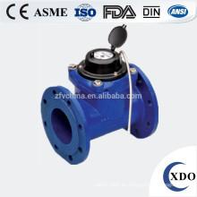 medidor de agua de gran diámetro fotoeléctrico lectura directa válvula remota control