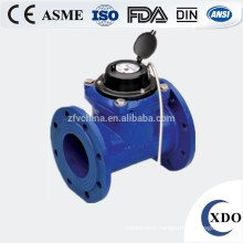 large diameter photoelectric direct reading remote valve control water meter