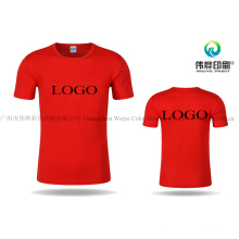 Cotton Round Neck Apparel / Women T Shirt