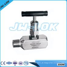 Válvula de medição de aço inoxidável de alto desempenho