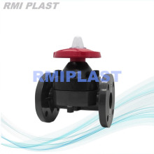 UPVC Diaphragm Valve Weir Type