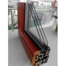 Profils de portes et fenêtres en aluminium bois