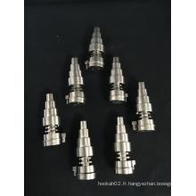 Vente en gros 3 en 1 Universal Domeless Titanium Nail