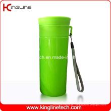 Cordão de copo plástico de dupla camada de 500 ml (KL-5019)