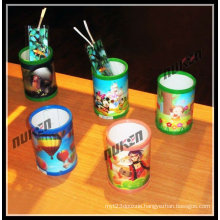 2015 Hot Various Plastic Pen Holder with 3D Effect