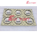 VOLVO engine parts D6D piston ring set