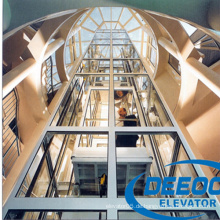 China Lieferant Hohe Qualität Alle Glas Sightseeing Aufzug