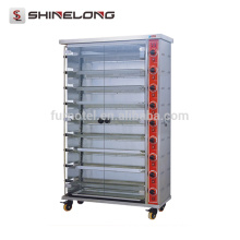 K763 Reasonable Price 2~8 Layer Gas & Electric Chicken Rotisserie Suitable For Car Rotisserie Sale