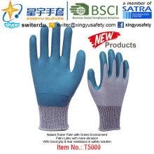 (Productos de Patentes) Guantes de protección de látex verde medio ambiente T5000