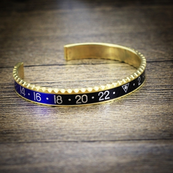 Gold Plated Speedometer Bangle
