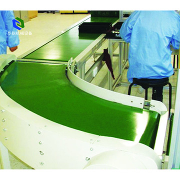Keselamatan Electric Teflon Conveyor Belt for Loong Load