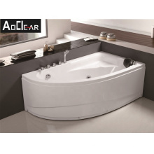 Aokeliya high-quality types of massage whirlpool bathtub with water jets for one or two person
