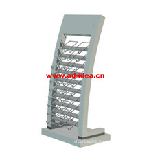 Artificial Quartz Stone Counter Top Exhibition Stand/Metal Display for Tile