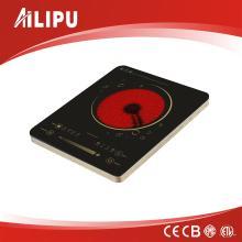 Cocina de infrarrojos de un solo quemador con certificado CE / CB Modelo Sm-Dt210
