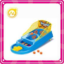 Mini brinquedo de plástico inteligente jogo de basquete tiro
