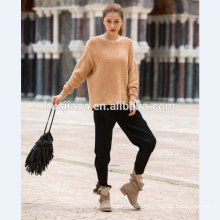 woman's cashmere sweater bat sleeves