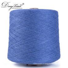 Cachemire peignée pour la main tricotant la machine de vêtements de bébé tricotant des fils de cachemire