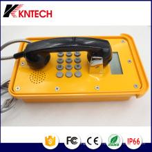 Téléphones VoIP Téléphone industriel Knsp-16 avec écran LCD Kntech