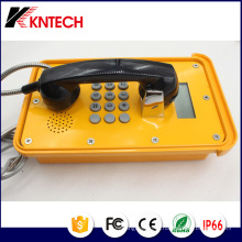 Telefones VoIP Telefone Industrial Knsp-16 com display LCD Kntech