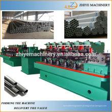 Alta precisão rodada ss aço inoxidável soldado linha de produção de tubos