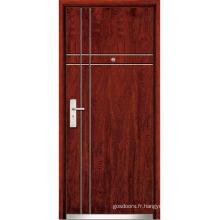 Porte d'intérieur en acier en acier (WX-SW-102)
