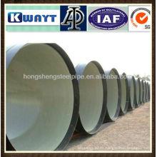 Revestimiento de cemento Tubería de acero anti-corrosión