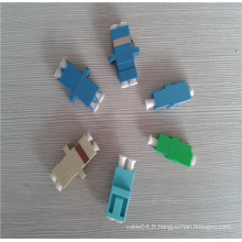 Adaptateur fibre optique adaptateur lc apc / pc adaptateur monophasé optique monomode simplex / adaptateur lc