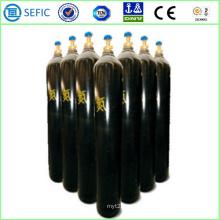 Cylindre d'azote sans couture à haute pression de 40L (ISO9809-3)