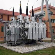 Huile immergé 66kV 110kV 80mva transformateur