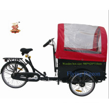 """24"""" Cargo and Passenger Tricycle (FP-TRB-J03)"""