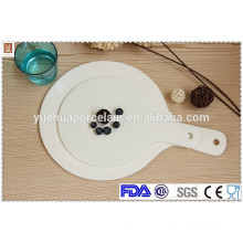 china wholesale tableware ceramic pizza serving plate
