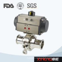 Stainless Steel Hygienic Pneumatic Non Dead Angle Ball Valve (JN-BLV2006)
