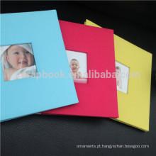 Álbum de fotos de Wholersale 8x8, última bebê adorável gravando álbuns fotográficos