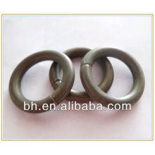 Anel de haste de cortina de ferro, anel de casamento de ferro, anel de fogo de ferro