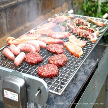 барбекю сетка гриль мясо приготовление кухня уголь открытый барбекю решетки части легко чистить горячие продажи