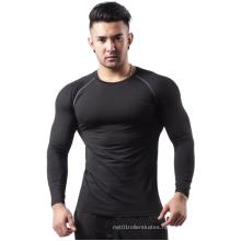 Custom Sport Long Polyester Fiber Men Fitness Training Suit