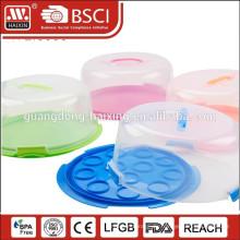 Durchsichtigen Kunststoff Box Kuchenteller