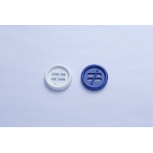 Four hole metal button for coat