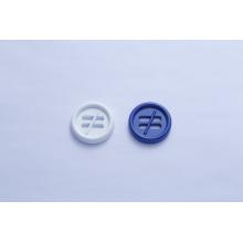 Botão de metal de quatro furos para casaco