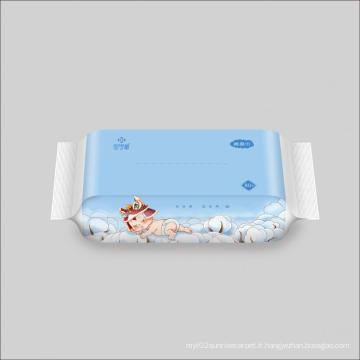 Serviettes de bain en coton doux